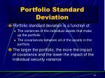 portfolio standard deviation1