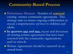 community based process1