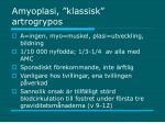 amyoplasi klassisk artrogrypos