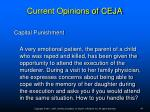 current opinions of ceja15