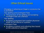 other ethical issues9