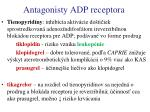 antagonisty adp receptora