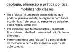 ideologia aliena o e pr tica pol tica mobilizando classes
