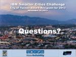 ibm smarter cities challenge city of tucson award recipient for 2013 november 14 20121