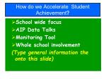 how do we accelerate student achievement