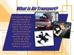 what is air transport