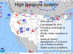 high pressure system