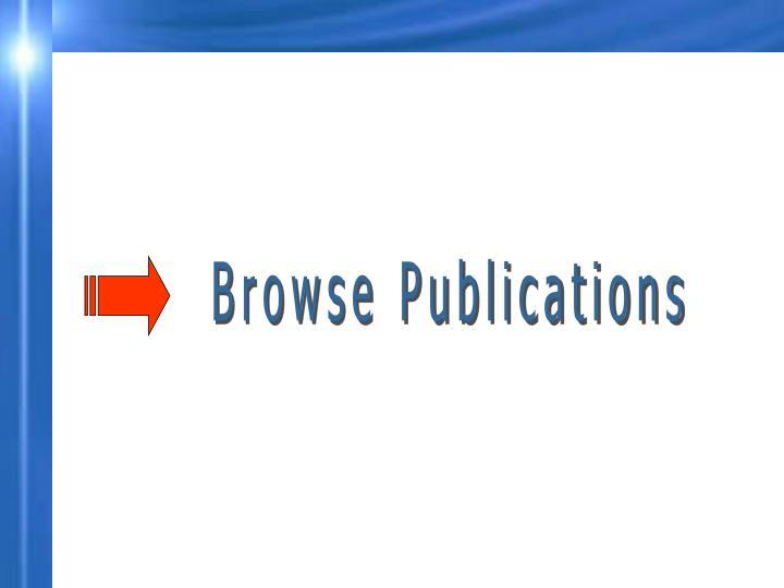 Browse Publications