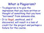 what is plagiarism1
