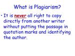 what is plagiarism2
