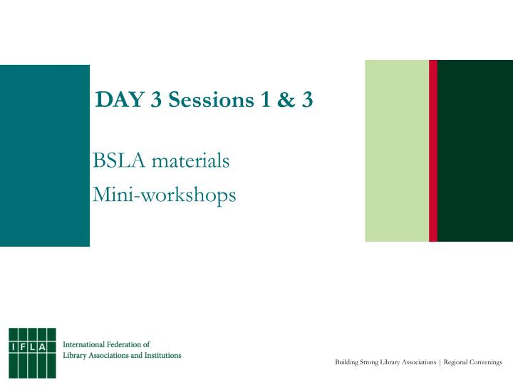 day 3 sessions 1 3 n.