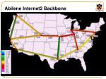 abilene internet2 backbone