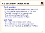 as structure other ases