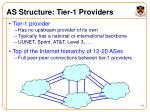 as structure tier 1 providers