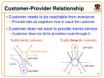 customer provider relationship