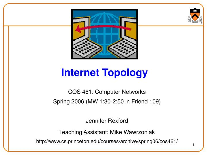 internet topology n.