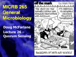 micrb 265 general microbiology