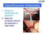 especificaciones ambientales1