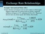 exchange rate relationships10