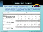 operating leases1
