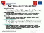 typy asopiseck ch publikac