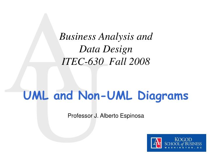 business analysis and data design itec 630 fall 2008 n.
