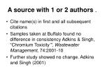 a source with 1 or 2 authors