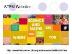 stem websites