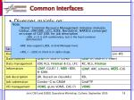 common interfaces1