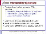 interoperability background1
