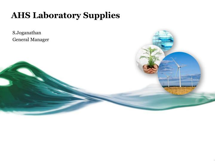 ahs laboratory supplies n.