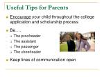 useful tips for parents