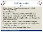staff information1