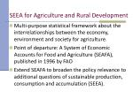 seea for agriculture and rural development