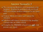 answer scenario 3
