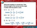 5 minute check lesson 7 7b
