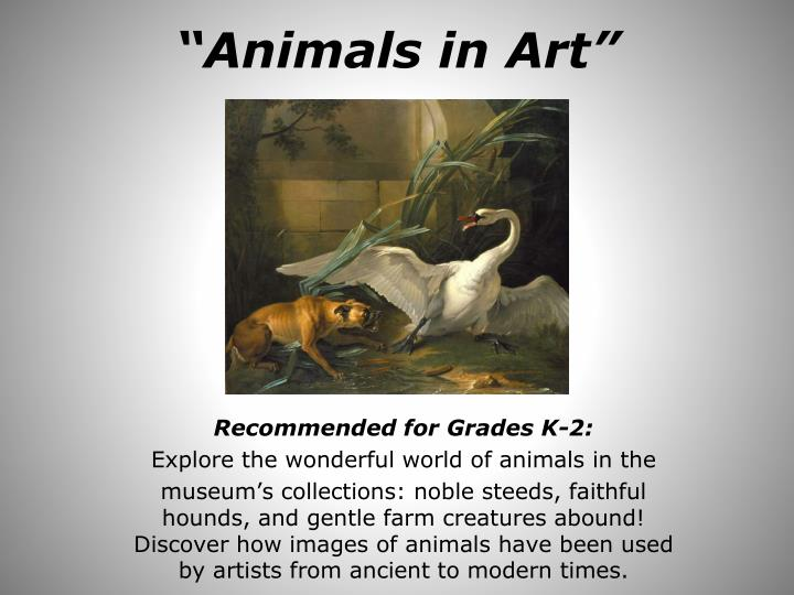 animals in art n.