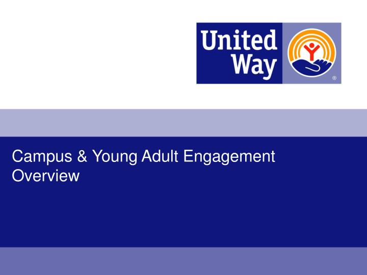 campus young adult engagement overview n.