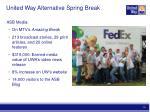 united way alternative spring break1