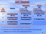 isat sessions