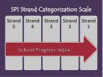 spi strand categorization scale