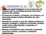 coenzima q 10