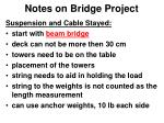 notes on bridge project7