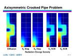 axisymmetric crooked pipe problem
