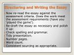 structuring and writing the essay2