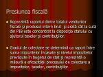 presiunea fiscal