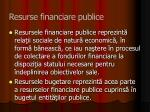resurse financiare publice1