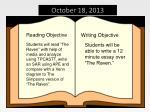 october 18 2013
