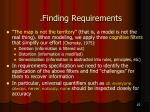 finding requirements1
