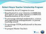 robert noyce teacher scholarship program1